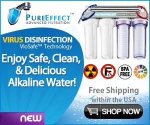 radiation water filter